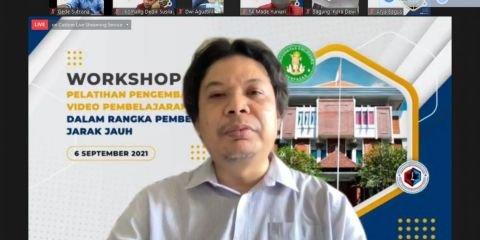 Prodi Pendidikan Bahasa Inggris FKIP Dwijendra University Gelar Workshop Pengembangan Video Pembelajaran Inovatif